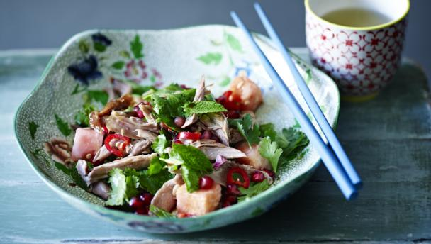 Bbc food recipes crispy duck salad crispy duck salad forumfinder Choice Image