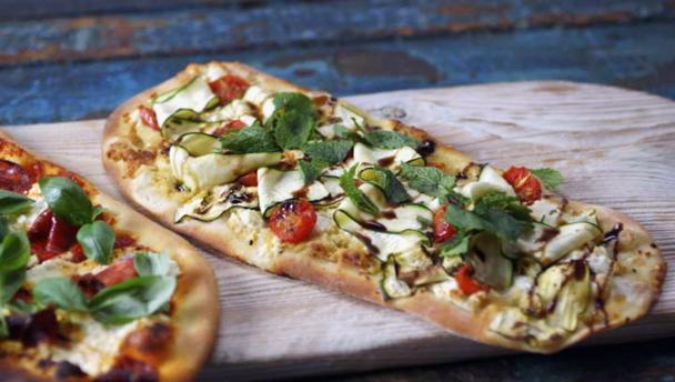 Bbc food recipes pizza expressed three ways pizza expressed three ways forumfinder Image collections