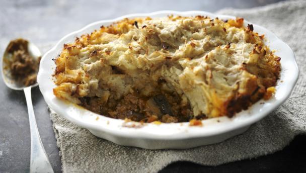 Shepherds Pie With Spiced Parsnip Mash