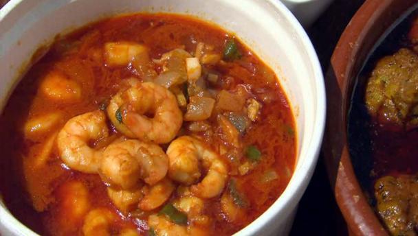 Bbc food recipes spanish garlic prawns spanish garlic prawns forumfinder Image collections