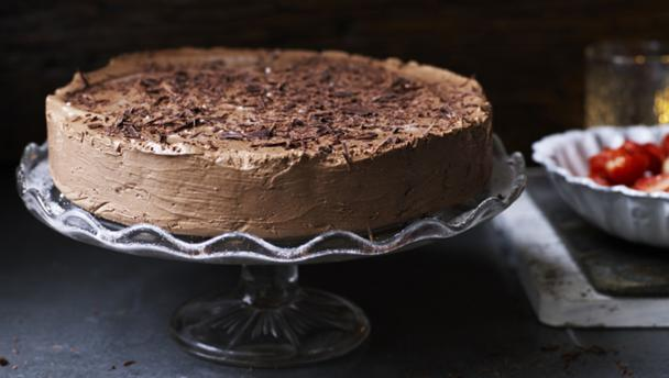 Christmas Desserts Uk.Velvet Chocolate Torte