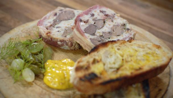 Bbc food recipes venison chicken liver and armagnac terrine venison chicken liver and armagnac terrine forumfinder Gallery